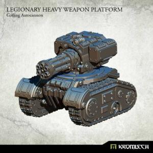 Legionary Heavy Weapon Platform: Gatling Autocannon (1)