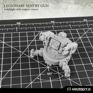 Legionary Sentry Gun: Magma Cannon with Searchlight (1)