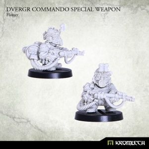 Dvergr Commando Special Weapon : Flamer (1)