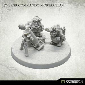 Dvergr Commando Mortar Team (3)