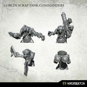 Goblin Scrap Tank Commanders (4)