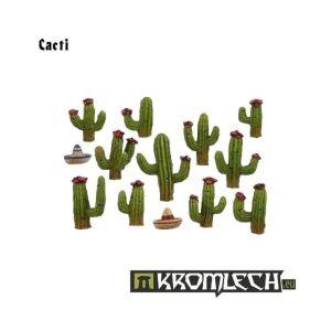 Cacti (11 + 2 sombreros)