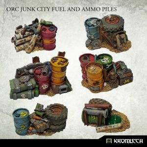 Orc Junk City Fuel and Ammo Piles (6)