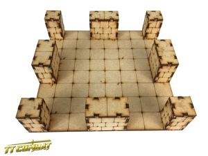 Dungeon Large Crossroad Section