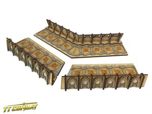 Fortified Trench Large Corner Sections