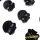 Black Skulls (Translucent)