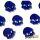 Blue Skulls (Translucent)