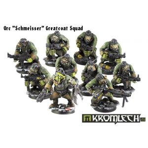 """Orc """"Schmeisser"""" Greatcoats Squad (10)..."""