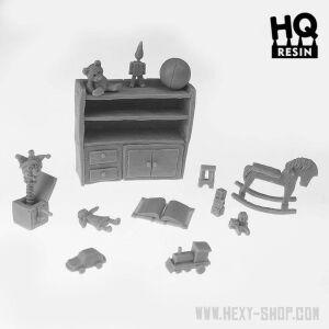 Kids Retro Toys Basing Kit