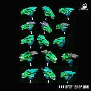Dragon Skull Heads (10)