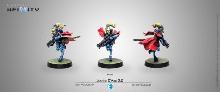 Jeanne DArc 2.0 Mobility Armor Spitfire