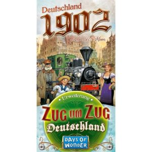 Zug um Zug - Deutschland 1902 Erweiterung