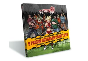 Zombicide - Season 2 Prison Outbreak Tile Pack Erweiterung