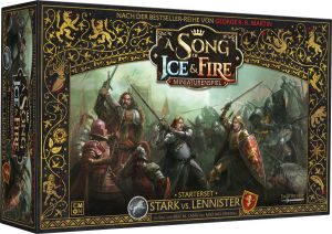 A Song of Ice & Fire - Miniaturenspiel Stark vs Lannister...