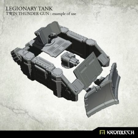 Legionary Tank: Twin Thunder Gun (1)