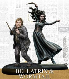 Bellatrix and Wormtail