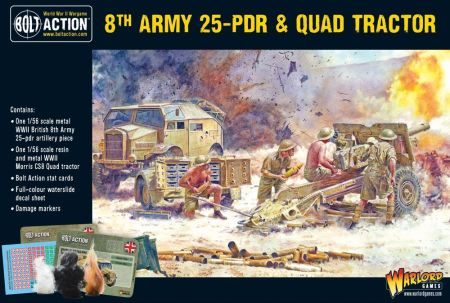 8th Army 25-Pdr & Quad Tractor