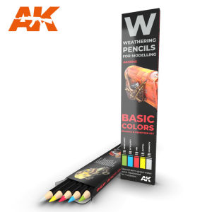 Watercolor Pencil Set Basic Colors