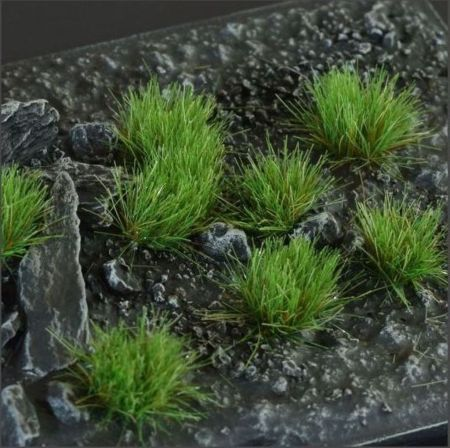 Strong Green 6mm Tufts (Wild)