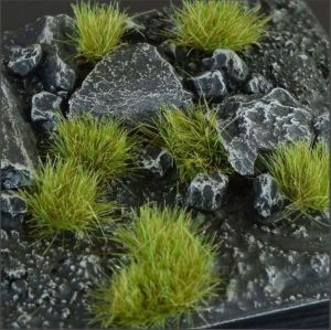 Dry Green 6mm Tufts (Wild)
