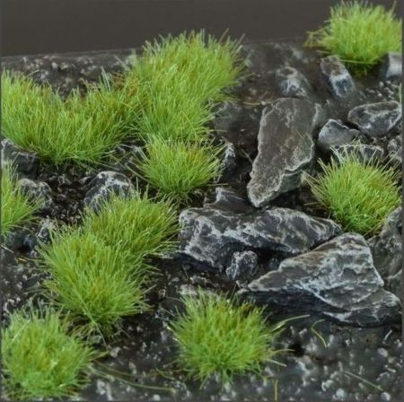 Green 4mm Tufts (Wild)