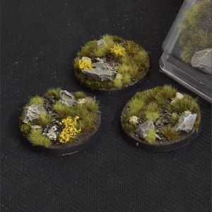 Round Highland Bases 50mm (x3)