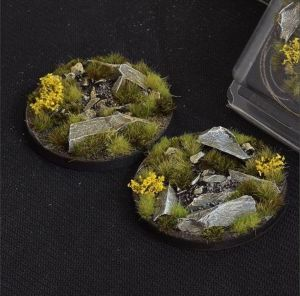 Round Highland Bases 60mm (2x)