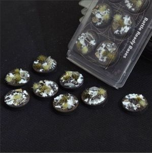 Round Winter Bases 32mm (x8)