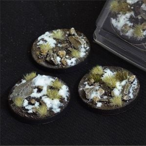 Round Winter Bases 50mm (x3)