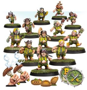 Blood Bowl Halblinge Greenfield Grashuggers
