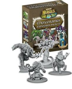 Heroes of Land, Air & Sea: Mercanary Pack 3