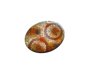 Mosaic Bases, Oval 120mm (1)