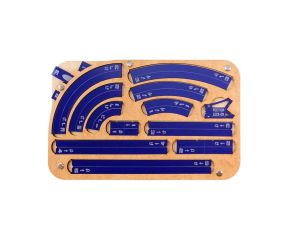 Space Fighter Maneuver Tray 2.0 - Navy