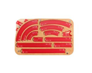 Space Fighter Maneuver Tray 2.0 - Red