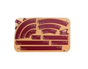 Space Fighter Maneuver Tray 2.0 - Crimson