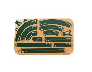 Space Fighter Maneuver Tray 2.0 - Emerald