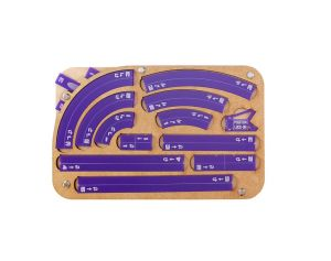 Space Fighter Maneuver Tray 2.0 - Purple