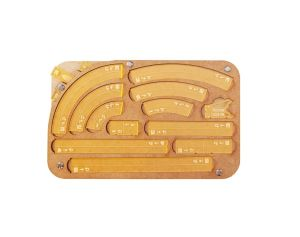 Space Fighter Maneuver Tray 2.0 - Yellow