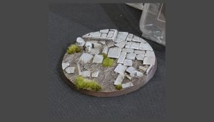 Temple Base round 100mm (x1)