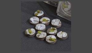 Temple Base Round 25mm (x10)