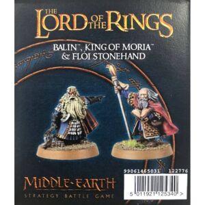 Balin, König von Moria, und Flói Steinhand