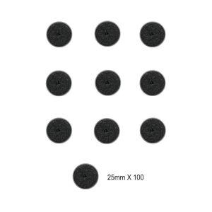 Citadel 25mm Round Base Set (100-Pack)