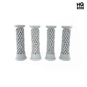Skull Columns Set