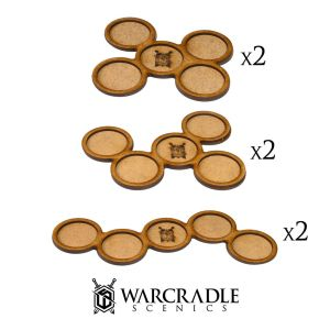 Skirmish Movement Trays - 32mm