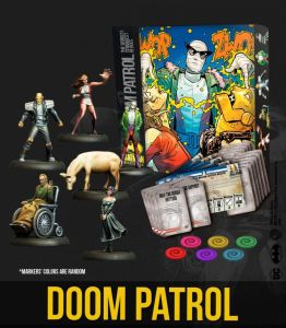 BAT BOX Doom Patrol