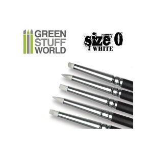 Modellierpinsel - Colour Shaper - Grösse 0 - WEIss...