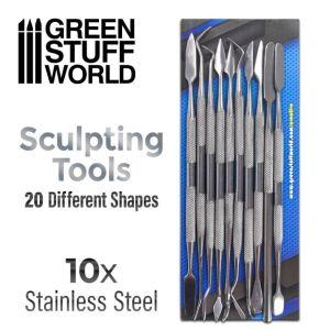 10x Modellierwerkzeug Set