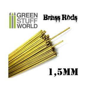 Pinning Brass Rods 1.5mm Messing