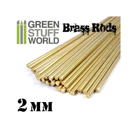 Pinning Brass Rods 2mm