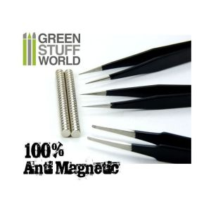 100% Anti-magnetische QUARTZ PINZETTEN